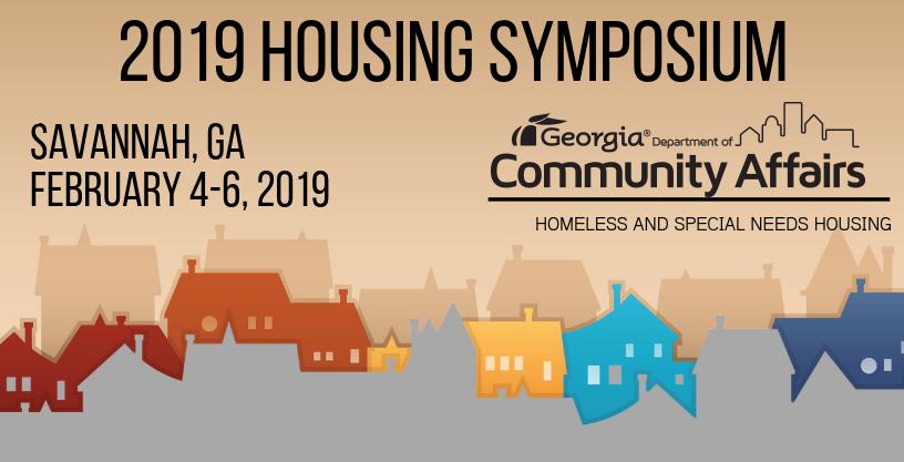 2019 Housing Symposium, Savannah, GA, February 4-6, 2019