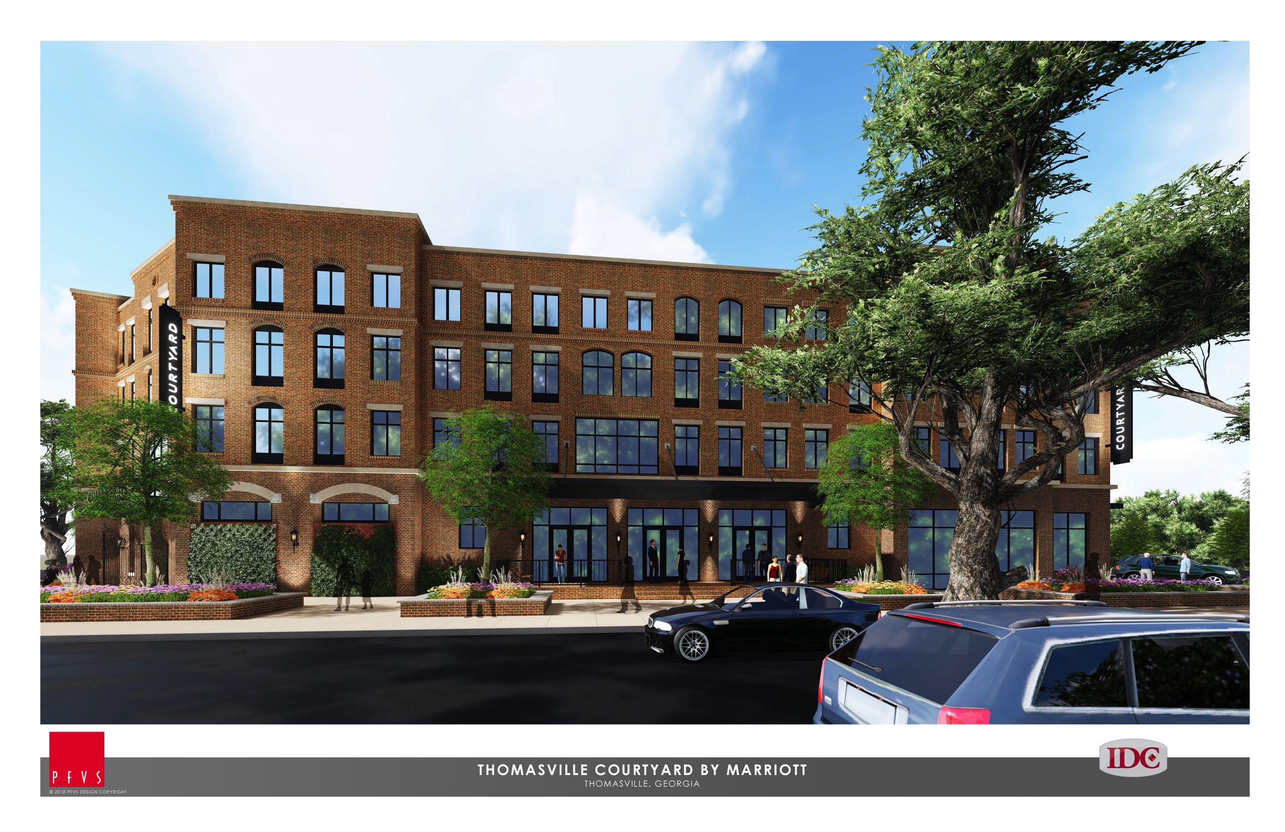 PlanFirst Success Story: Downtown Economic Development – Courtyard-Marriott