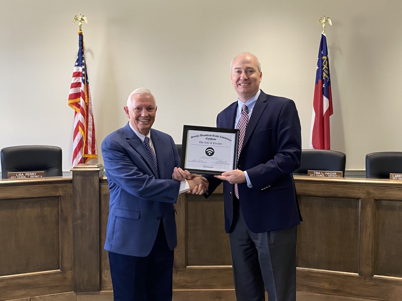 City of Claxton's Broadband Ready designation marks first multi-jurisdictional recognition