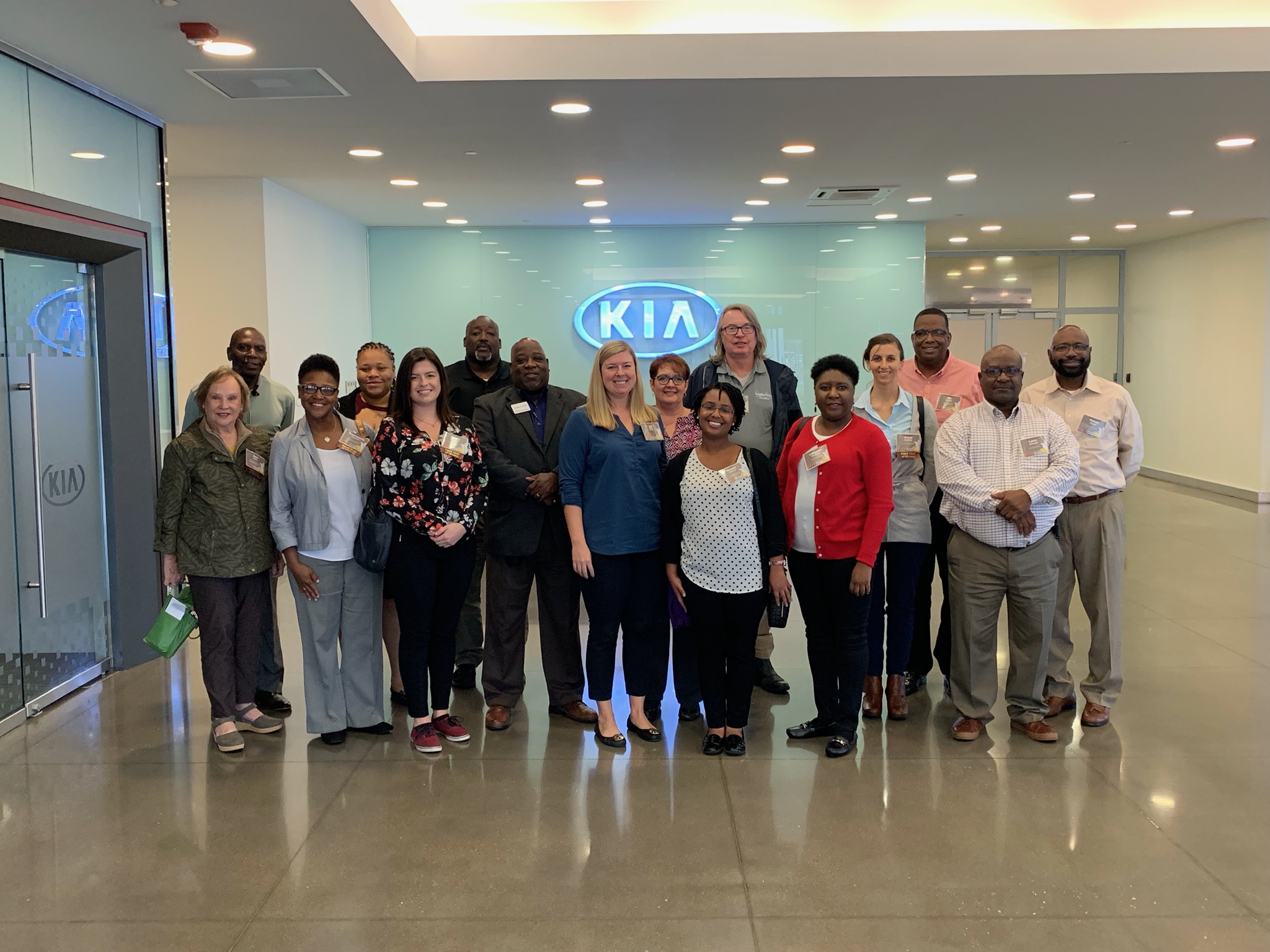 Fall Conference attendees tour KIA Mobile Manufacturing Georgia