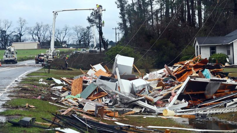 South Georgia tornadoes wreak havoc