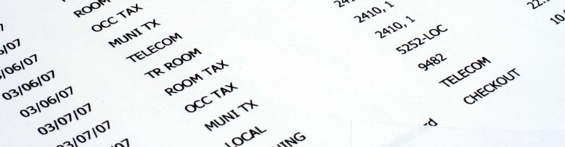 Hotel-Motel Excise Tax