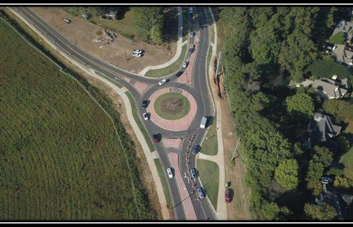 PlanFirst Success Story: Hardscrabble Road Roundabout/Green Loop Multi-Use Trail