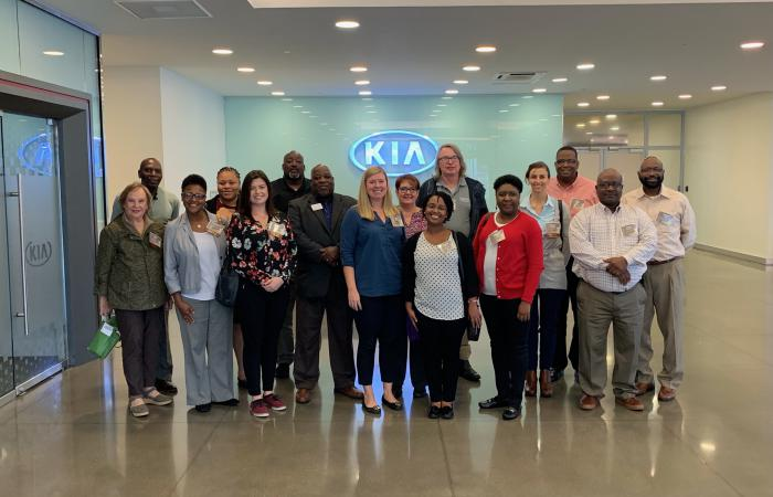 Fall Conference attendees tour KIA Mobile Manufacturing Georgia