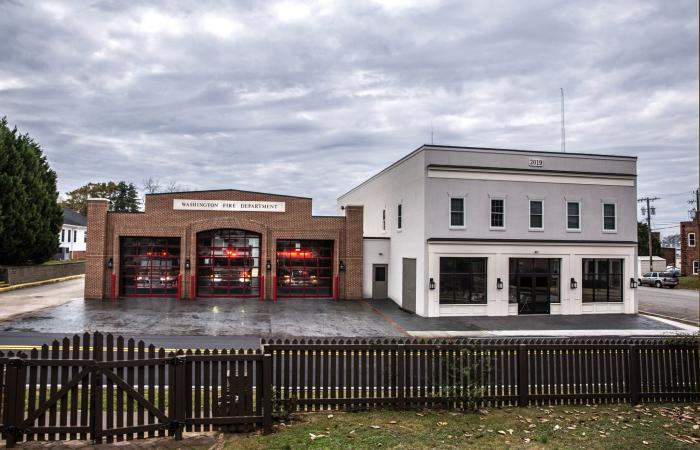 The City of Washington's fire department.