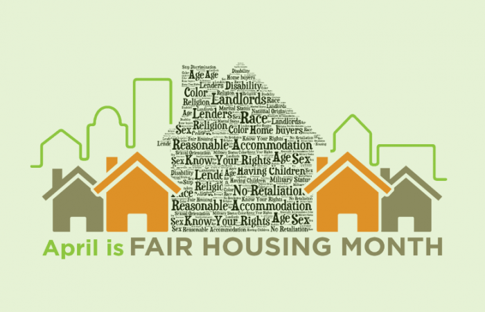 April is Fair Housing Month