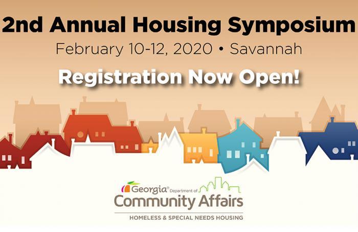 Housing Symposium | Registration Open | February 10 - 12, 2020 | Savannah